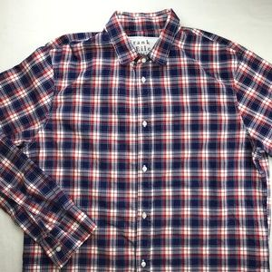 FRANK & EILEEN PAUL BUTTON DOWN SHIRT LARGE